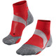 Falke BC5 sukat , harmaa/punainen